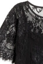 Lace dress - Black - Ladies | H&M CN 3