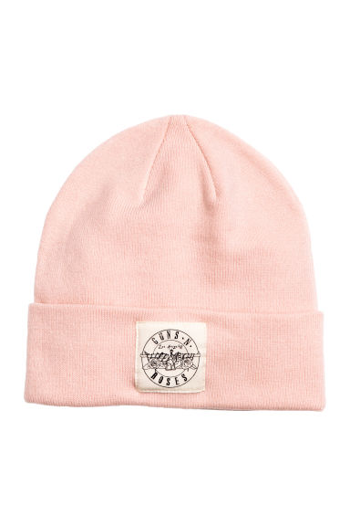 Knitted hat - Pink - Ladies | H&M CN 1