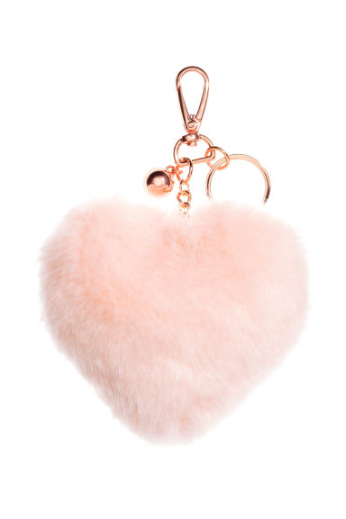 Keyring - Light pink/Heart - Ladies | H&M CN 1