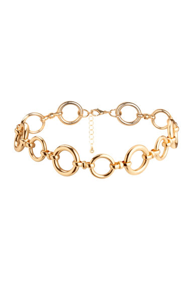Short necklace - Gold - Ladies | H&M 1