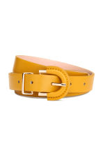 Narrow belt - Yellow - Ladies | H&M GB 1