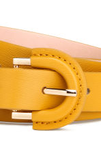 Narrow belt - Yellow - Ladies | H&M GB 3