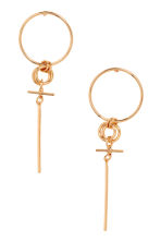 Earrings - Gold - Ladies | H&M 1