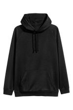 Hooded top - Black - Men | H&M 2