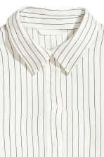 Striped blouse - White/Striped - Ladies | H&M 3