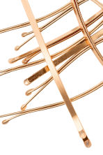 10-pack hair grips - Gold - Ladies | H&M 2