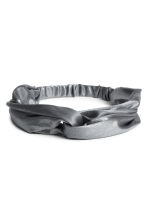 Glittery hairband - Grey/Silver - Ladies | H&M CN 1