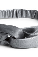 Glittery hairband - Grey/Silver - Ladies | H&M CN 2