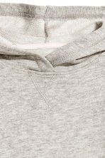 Glittery hooded top - Grey marl - Kids | H&M 2