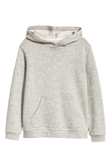 Glittery hooded top