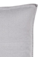 Linen cushion cover - Grey - Home All | H&M CN 3