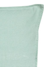 Linen cushion cover - Dusky green - Home All | H&M CN 2