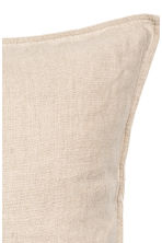 Linen cushion cover - Linen beige - Home All | H&M CN 2