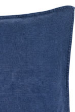 Copricuscino in lino - Blu scuro - HOME | H&M IT 2