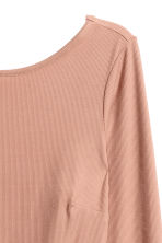 Top a costine - Beige - DONNA | H&M IT 3