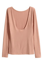 Top a costine - Beige - DONNA | H&M IT 2
