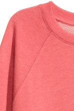Sweatshirt - Terracotta pink - Ladies | H&M CN 3