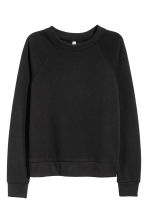Sweatshirt - Black - Ladies | H&M CN 2
