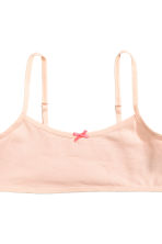 2-pack crop tops - Powder pink - Kids | H&M CN 3