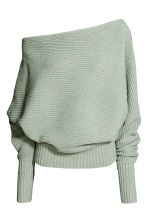 Knitted jumper - Mint green - Ladies | H&M 2