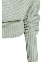 Knitted jumper - Mint green - Ladies | H&M 3