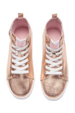 Coated trainers - Rose gold - Kids | H&M CN 2