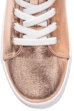 Coated trainers - Rose gold - Kids | H&M CN 3
