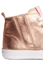 Coated trainers - Rose gold - Kids | H&M CN 4