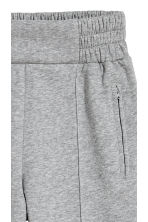 Joggers with creases - Grey marl - Ladies | H&M CN 3