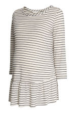 MAMA Linen-blend top - Natural white/Striped - Ladies | H&M CN 2