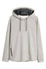 連帽運動上衣 - Grey marl - Men | H&M 2