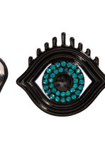 4-pack brooches - Black - Ladies | H&M 2