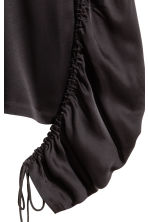 Top with drawstrings - Black - Ladies | H&M 3