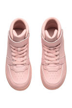 Hi-top trainers - Light pink - Kids | H&M 2