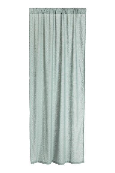 2-pack curtain lengths - Dusky green - Home All | H&M CN 1