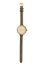 Watch - Khaki green - Ladies | H&M CN 2