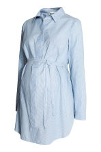 MAMA Cotton tunic - Light blue/Striped - Ladies | H&M 2