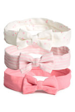 3-pack hairbands - Pink -  | H&M 1
