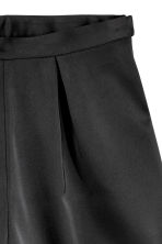 Satin shorts - Black - Ladies | H&M CN 3