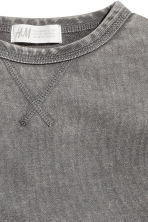 Washed-look sweatshirt - Grey washed out -  | H&M 3