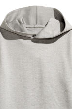 Hooded dress - Grey marl -  | H&M 3