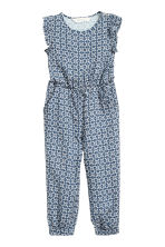 Patterned jumpsuit - Blue - Kids | H&M CN 2