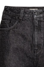 High waist Jeans - Black denim - Ladies | H&M GB 4