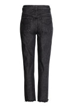 High waist Jeans - Black denim - Ladies | H&M CN 3