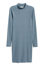 Bodycon dress - Blue-grey - Ladies | H&M CN 2