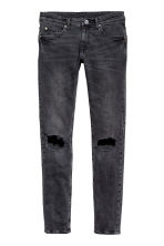 Super Skinny Trashed Jeans - Gris foncé washed out - HOMME | H&M FR 2