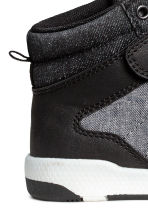 Hi-top trainers - Black/White marl - Kids | H&M 4