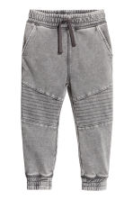 Pantalon jogger délavé - Gris washed out -  | H&M FR 2