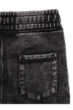 Washed joggers - Black washed out -  | H&M CN 3