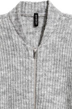 Rib-knit cardigan - Grey - Ladies | H&M 3